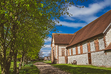 Exterior Photo of Tithe Barn