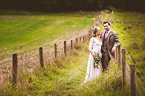 Bride and Groom - Hampshire Wedding at Manor Barn Buriton (26)
