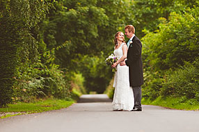 Bride and Groom - Hampshire Wedding at Tithe Barn (36)