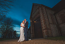 Bride and Groom - Hampshire Wedding at Tithe Barn (15)