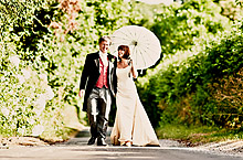 Bride and Groom - Hampshire Wedding at Tithe Barn (37)