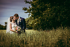 Bride and Groom - Hampshire Wedding at Tithe Barn (13)