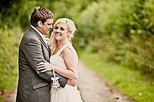 Adele and Danny at Tithe Barn