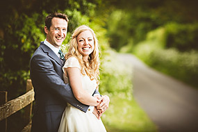 Bride and Groom - Hampshire Wedding at Tithe Barn (44)