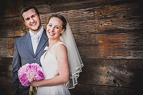 Bride and Groom - Hampshire Wedding at Tithe Barn (65)