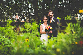 Bride and Groom - Oxfordshire Wedding at Witney (1)
