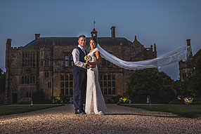 Bride and Groom - Somerset Wedding at Brympton House (59)