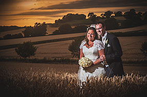 Bride and Groom - Surrey Wedding at Bury Court Barn (61)