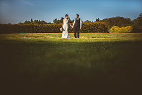 Bride and Groom - Surrey Wedding at Cain Manor (44)
