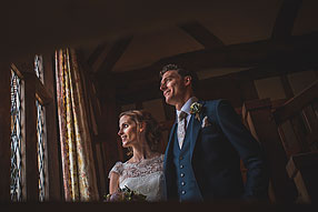 Bride and Groom - Surrey Wedding at Cain Manor (52)