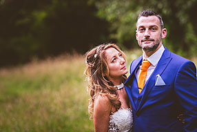 Bride and Groom - Surrey Wedding at Ramster (10)
