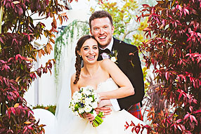 Bride and Groom - Sussex Wedding at Southdowns Manor (1)