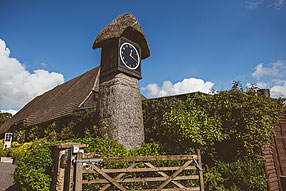 Exterior photo of Clock Barn